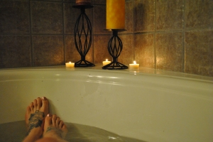Creating my own spa day @ home - budget approved! ;)